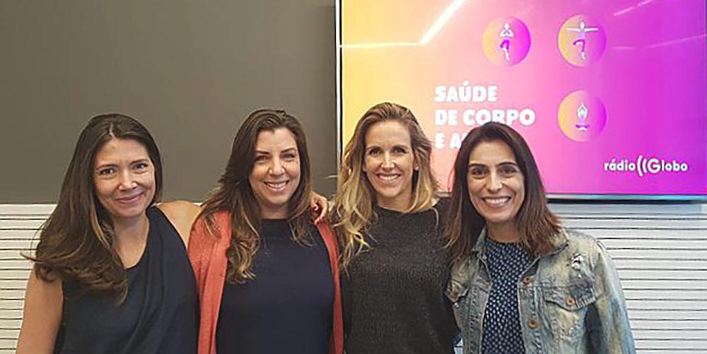 Gabriela Amaral é uma das entrevistadas no programa de Mariana Ferrão que fala sobre os desafios da maternidade