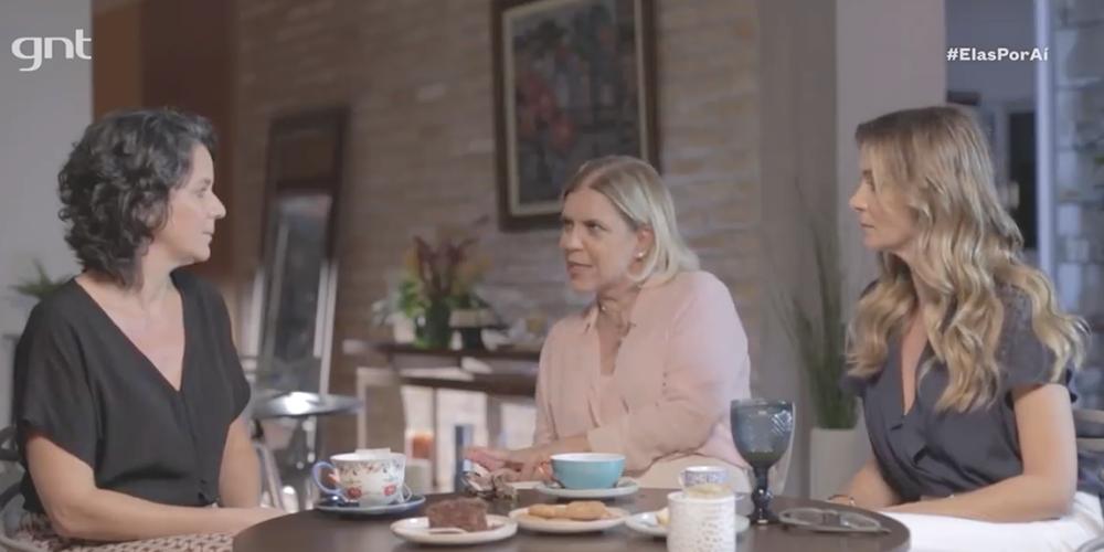 Astrid Fontenelle e Mônica Martelli conversam com Patrícia Grinfeld sobre ser mãe contemporânea no Saia Justa